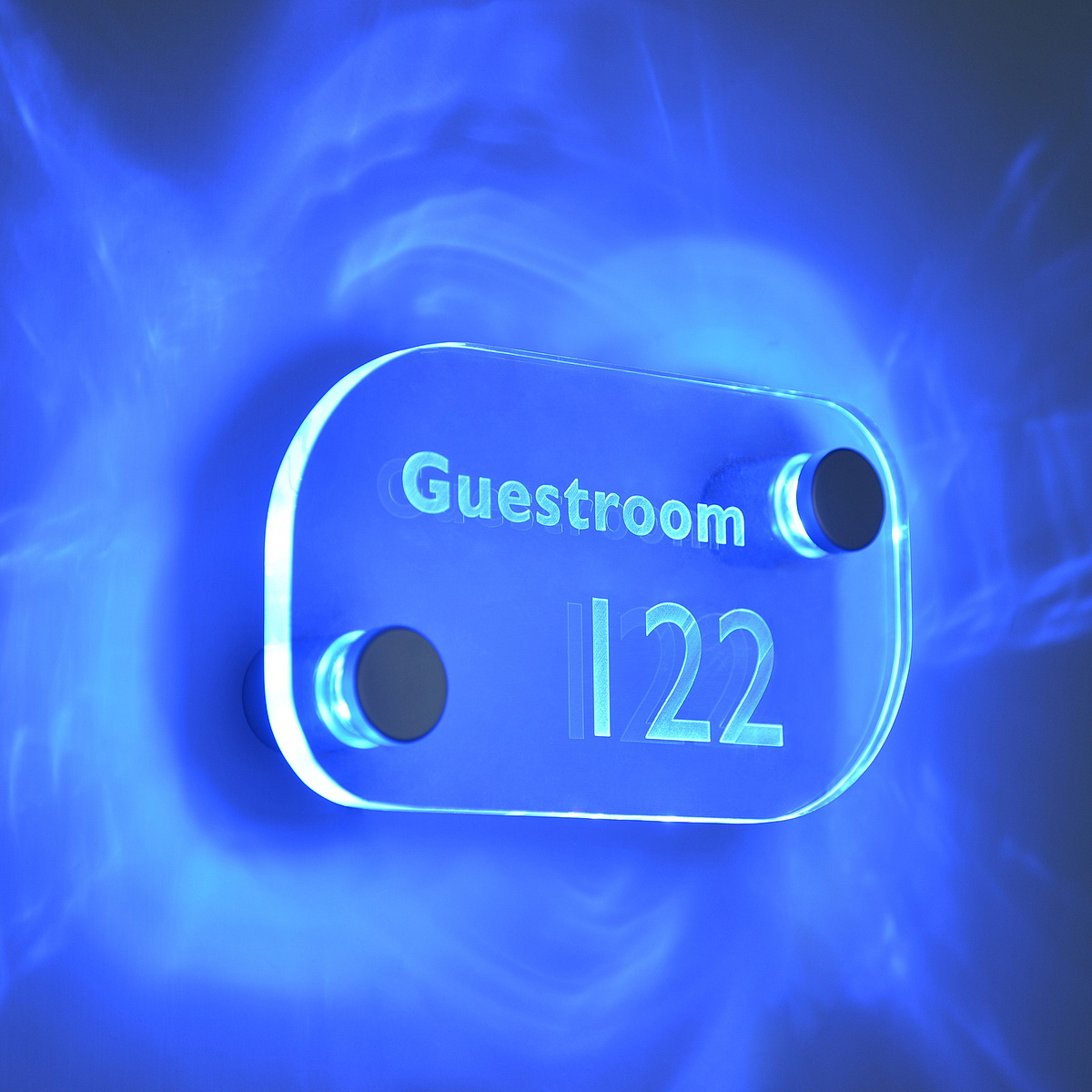 • Available with Blue, Red, or White LED's • Comes in sets of either 2 or 4 • For signs up to 3/8'' Thick