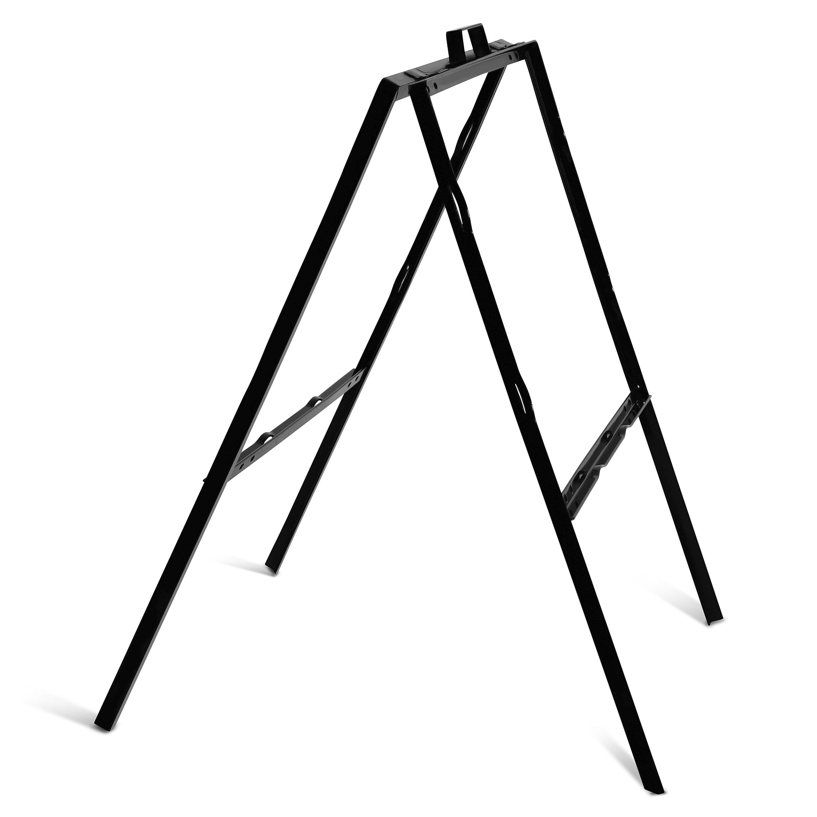 24'' Wide x 18'' Height Black A-Frame Slide-in/Bolt-in Sign Panel Frame (accepts up to 1/8'' thickness)