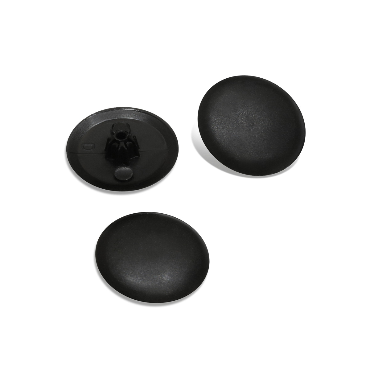 Black Color Bifix, Diameter 1/2'' – For Philips Flat Head