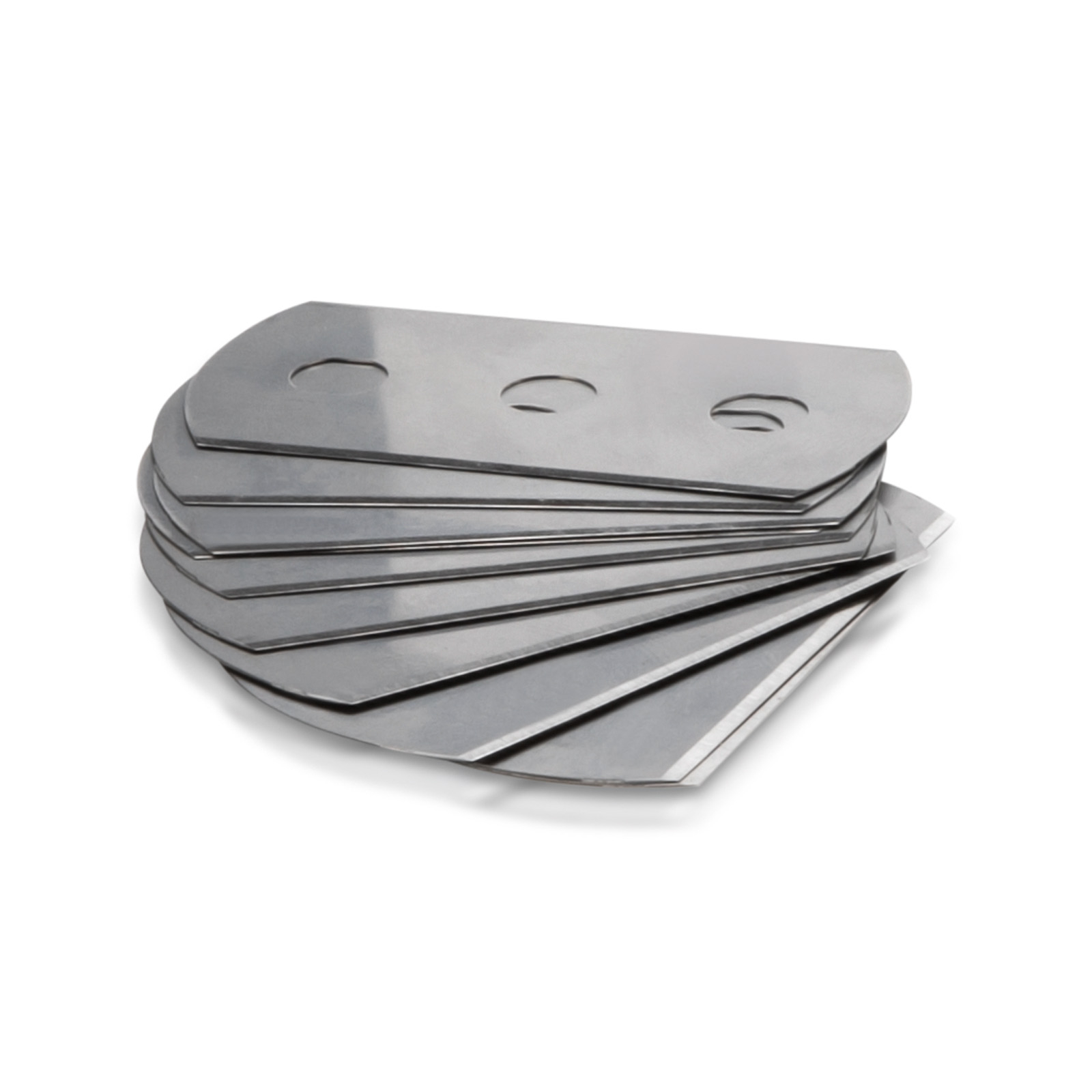 Replacement Carbon Steel Blades for Razor Scraper (Pack of 10)