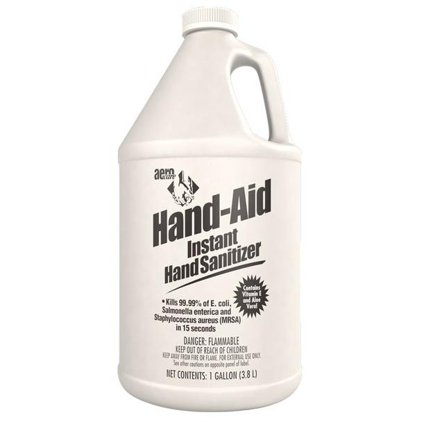 All In One Hand Sanitizer Stand With 1 Gallon Hand Aid instant hand sanitizer gel