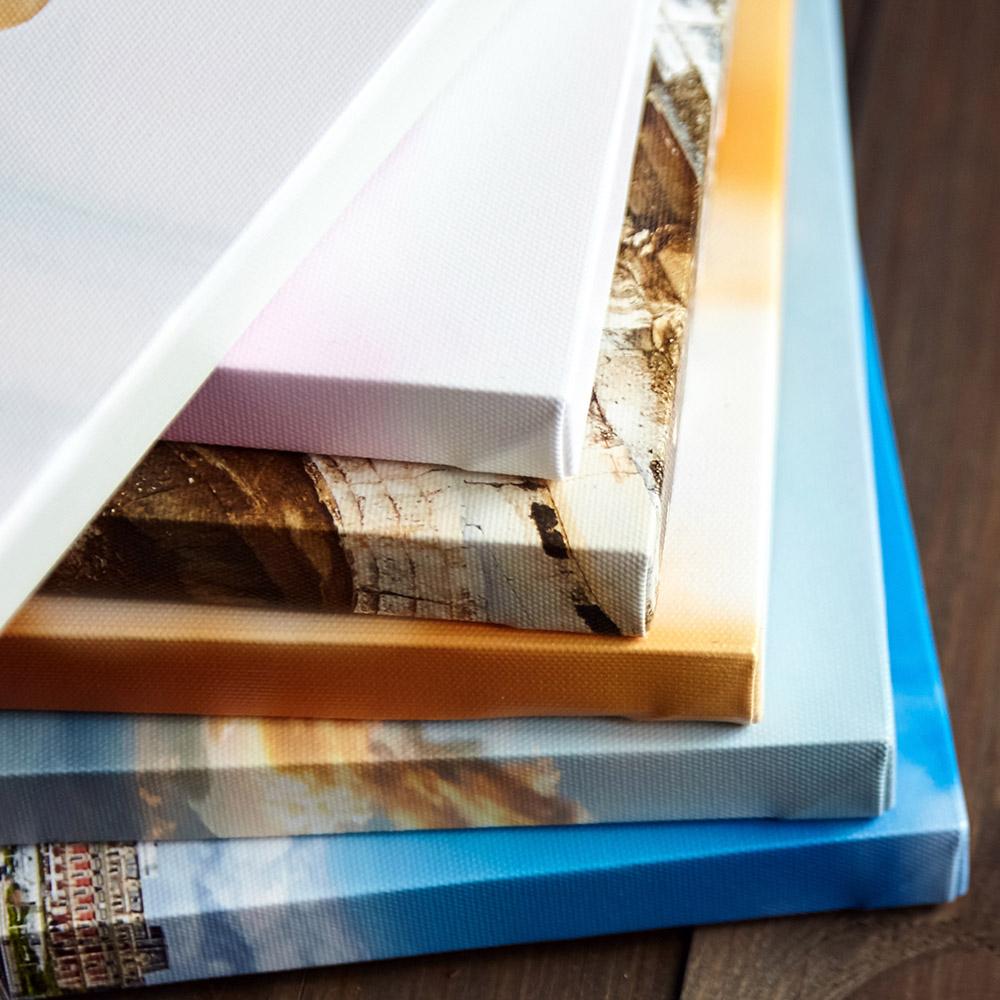 24'' x 50' - Gallery Grade Fine Art Canvas Gloss Finish - 2'' Core