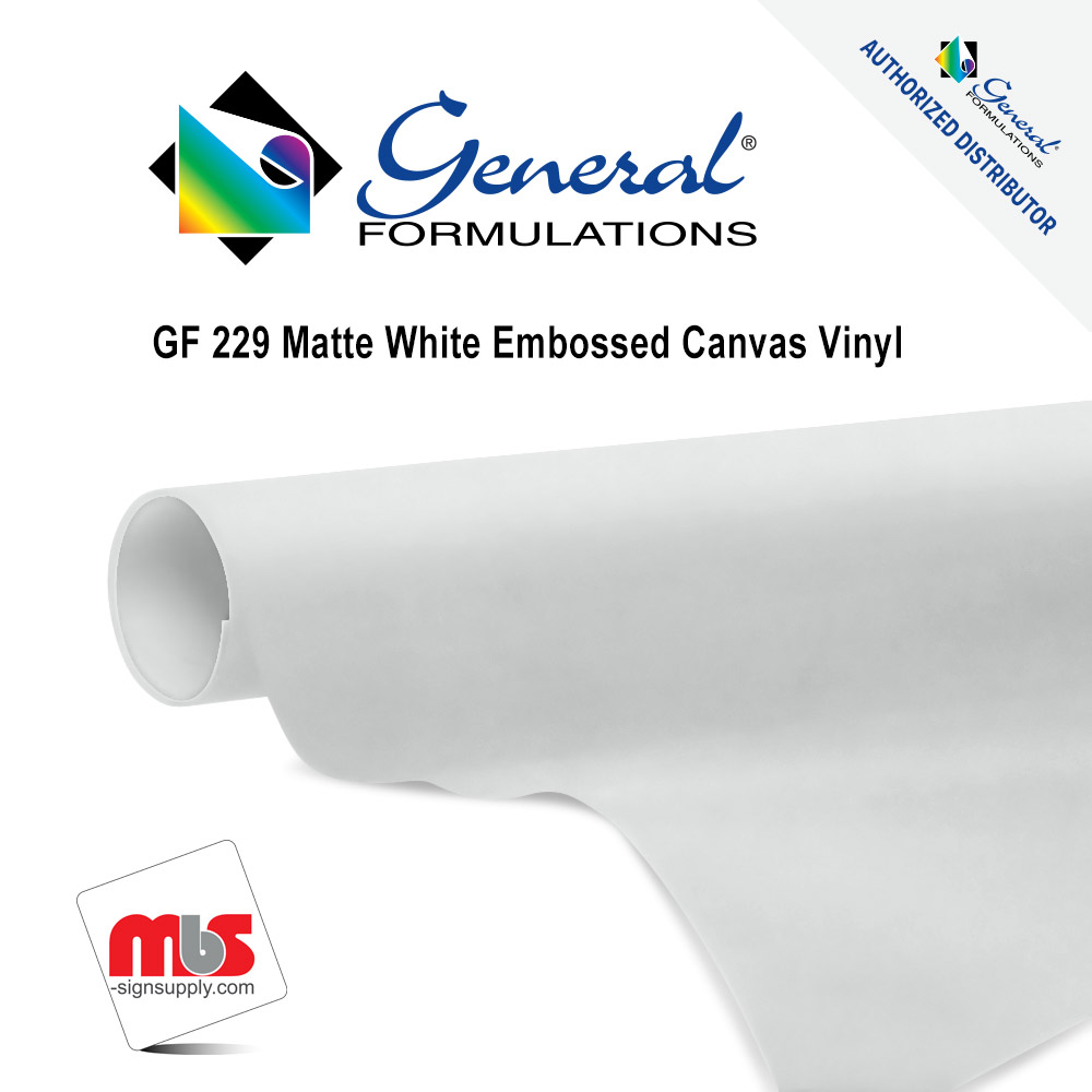 • 6.0 mil embossed matte white semi-rigid calendared vinyl • Uses a specially formulated microsphere acrylic adhesive