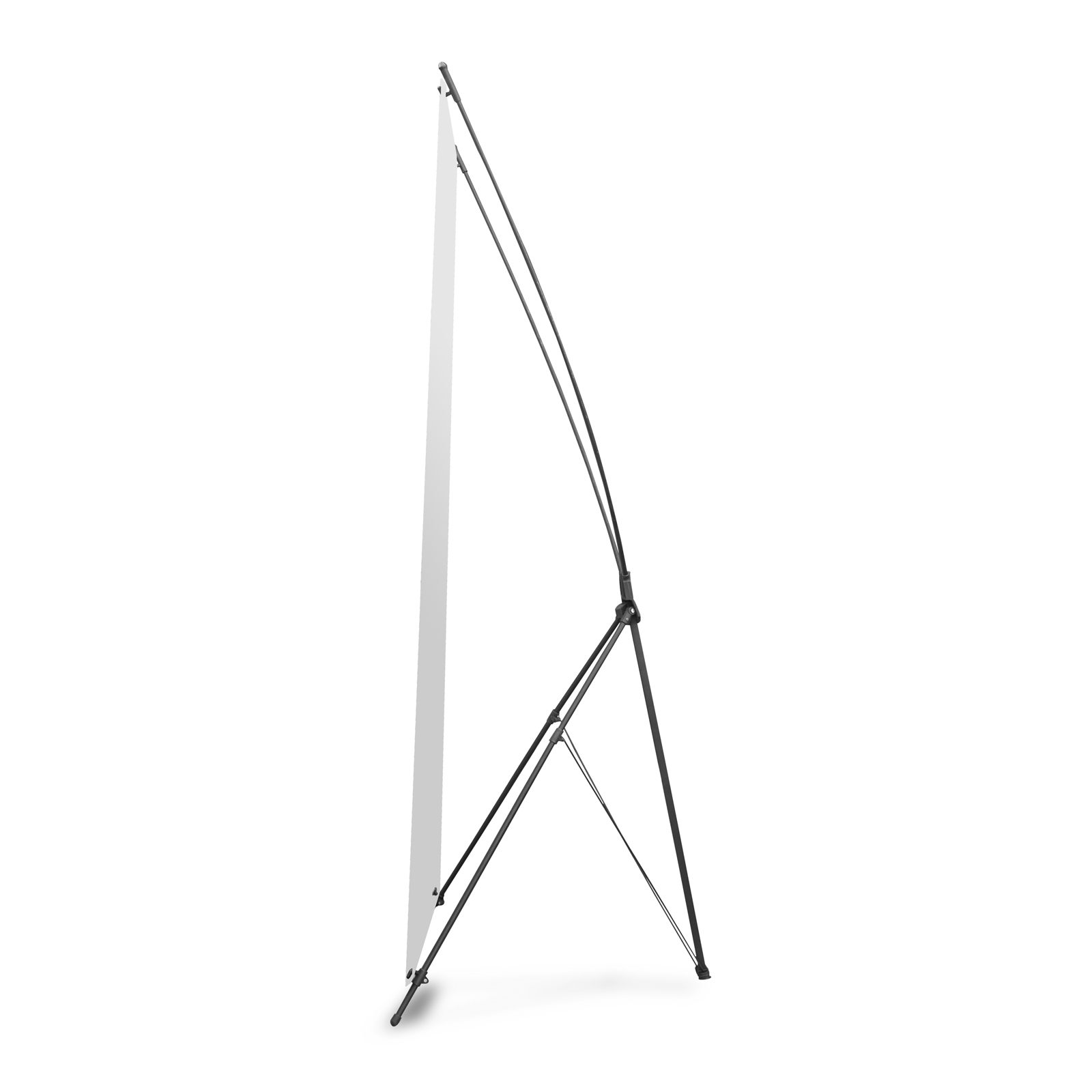 Tripod Banner Stand 23-5/8'' x 63''