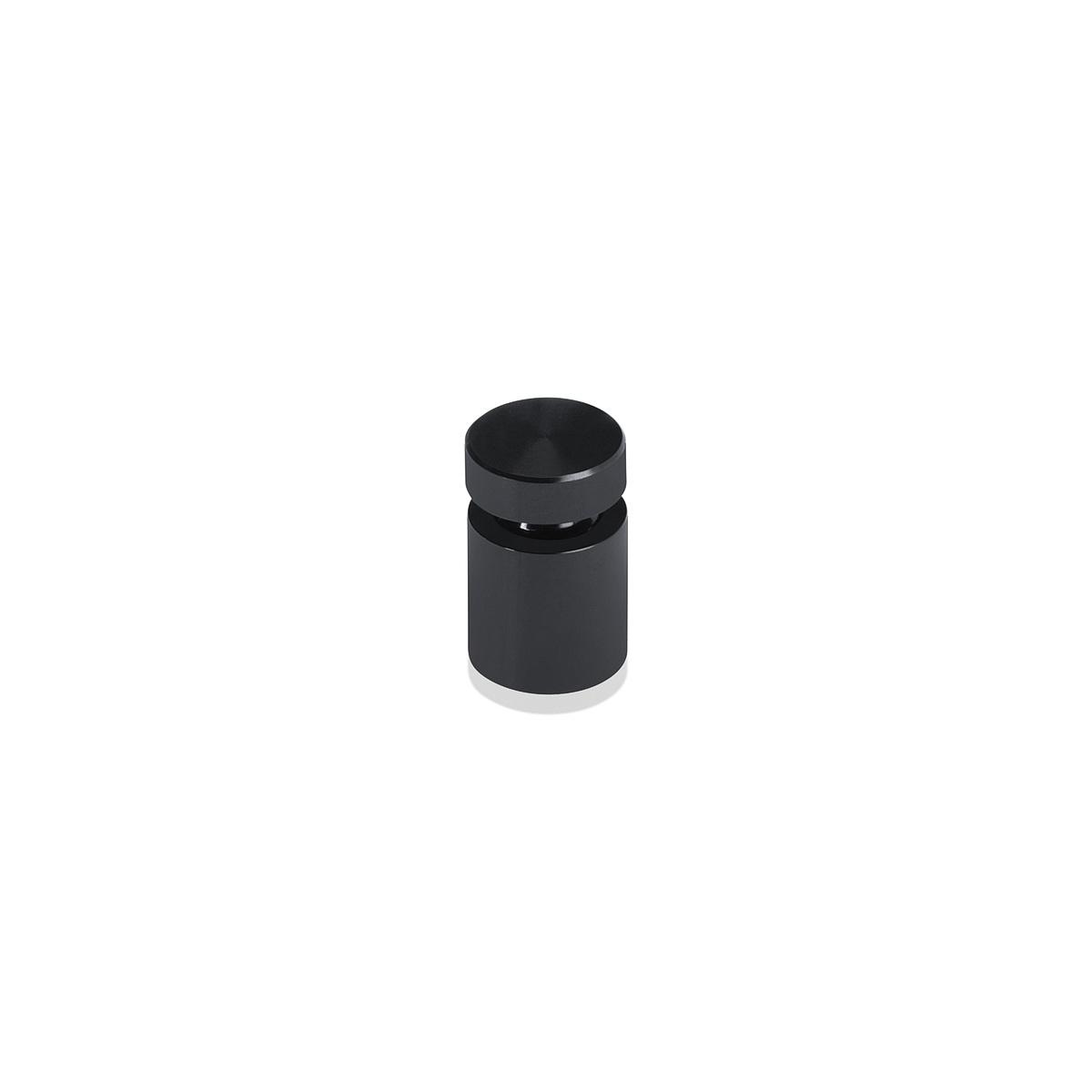 1/2'' Diameter X 1/2'' Barrel Length, Affordable Aluminum Standoffs, Black Anodized Finish Easy Fasten Standoff (For Inside / Outside use)