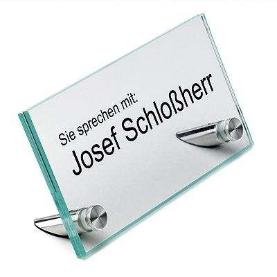 1/2'' Diameter Desktop Table Standoffs 60° Angle - Flat Head Standoffs (Stainless Steel Satin Brushed)