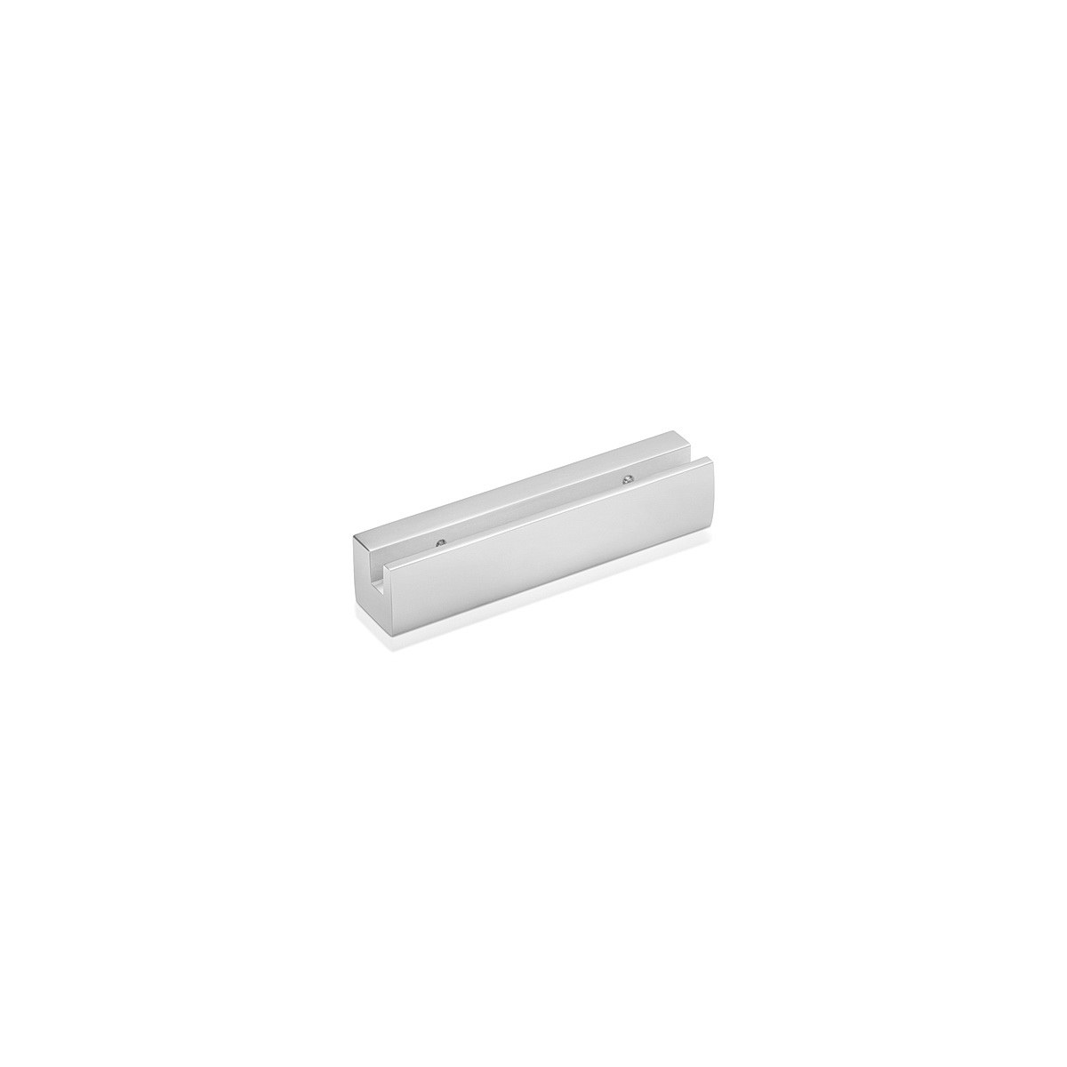 Sign Clamp in 4 3/4'' (120 mm) length  X 1'' (25.4 mm) wide - Satin