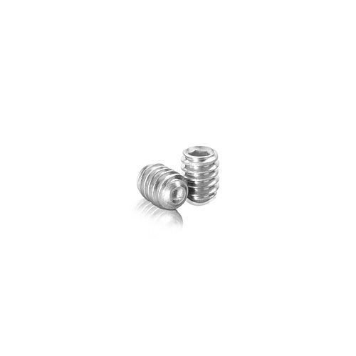 Stainless Steel Stud 1/4-20 Threaded, Length: 5/16''