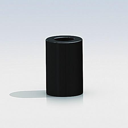 Black Spacers Diameter:  3/8'' x L  3/16'' (Sold Per Unit)