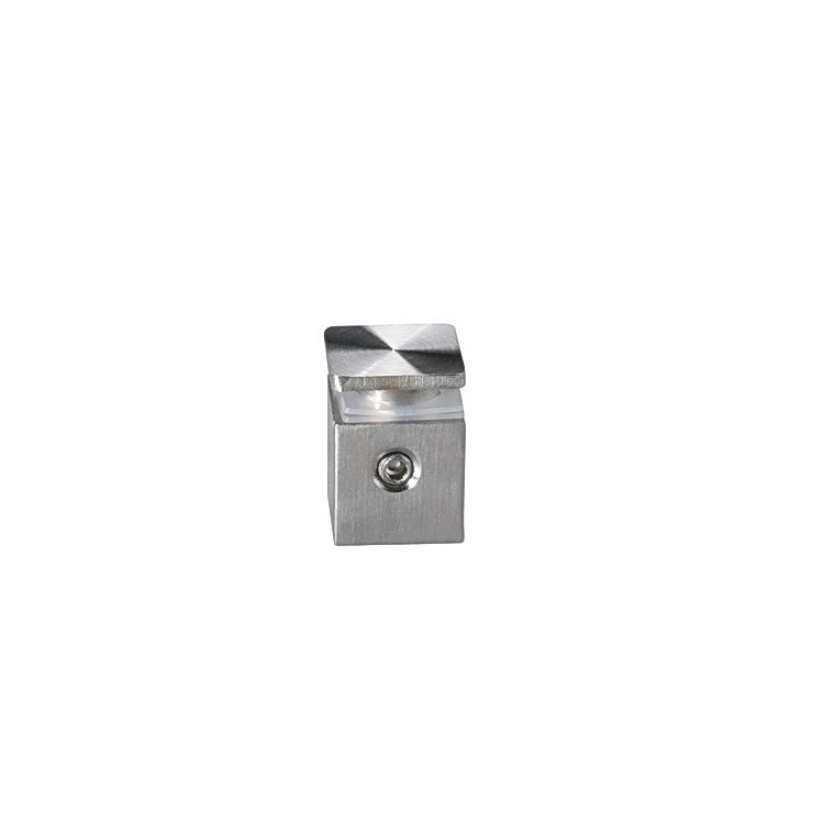 1/2'' x 1/2'' Stainless Steel Square Standoff Satin Brushed Finish (for Indoor Use)