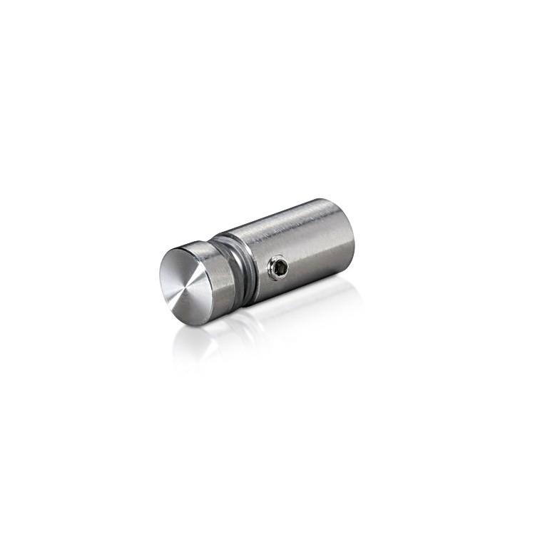 1/2'' Diameter X 3/4'' Barrel Length,  (316 Marine Grade) Stainless Steel Brushed Finish. Easy Fasten Standoff (For Inside / Outside use)